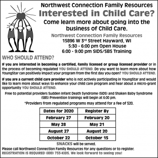 Interested in Child Care?