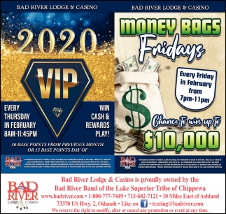 2020 VIP / Money Bags Fridays