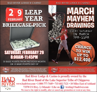 Leap Year Briefcase Pick / March Mayhem Drawings