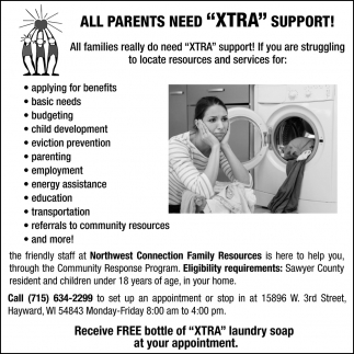 All Parents Need XTRA Support