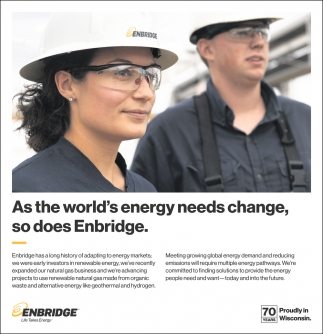 World's Energy Needs Change