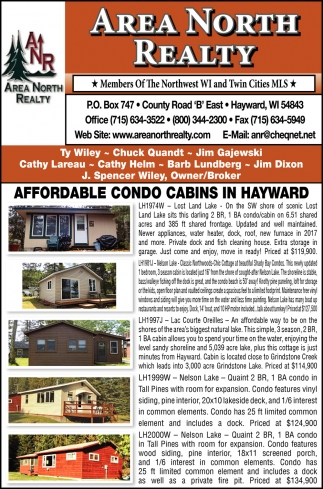 Affordable Condo Cabins in Hayward