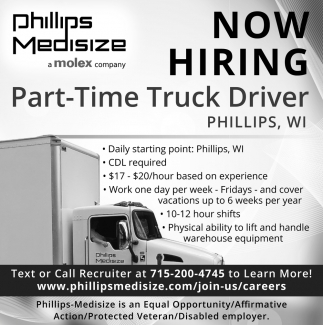 Part-Time Truck Driver