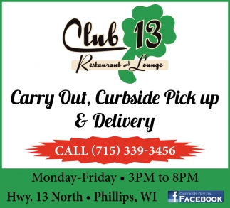 Curbside Pick Up & Delivery
