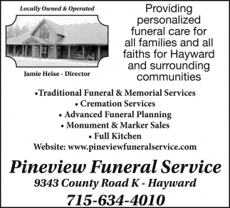 Traditional Funeral & Memorial Services