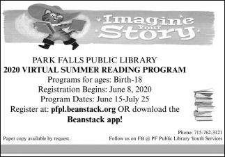 2020 Virtual Summer Reading Program