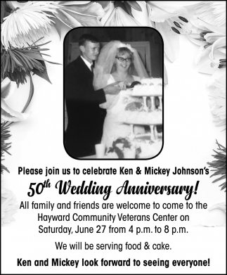 Ken & Mickey Johnson's 50th Wedding Anniversary