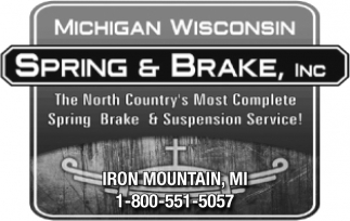 The North Country's Most Complete Spring Brake & Suspension Service
