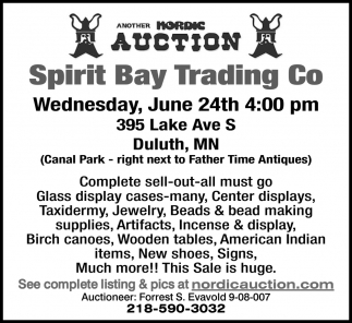 Spirit Bay Trading Co