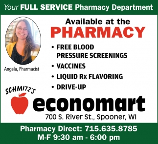 Full Service Pharmacy Department