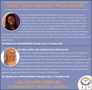 Meet Our Newest Providers!