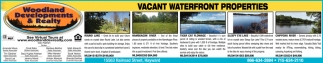 Vacant Waterfront Properties