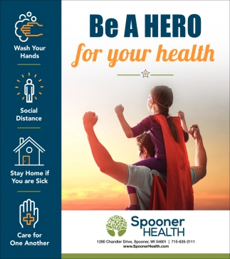 Be A Hero For Your Health