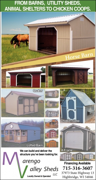 Animal Shelters to Chicken Coops