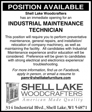Industrial Maintenance Technician