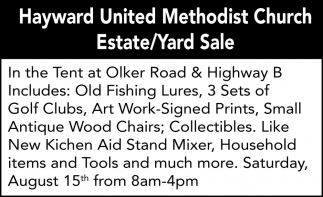 Estate/Yard Sale