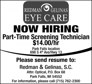 Part-Time Screening Technician