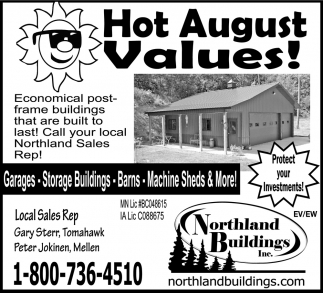 Hot August Values