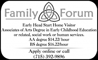 Early Head Start Home Visitor