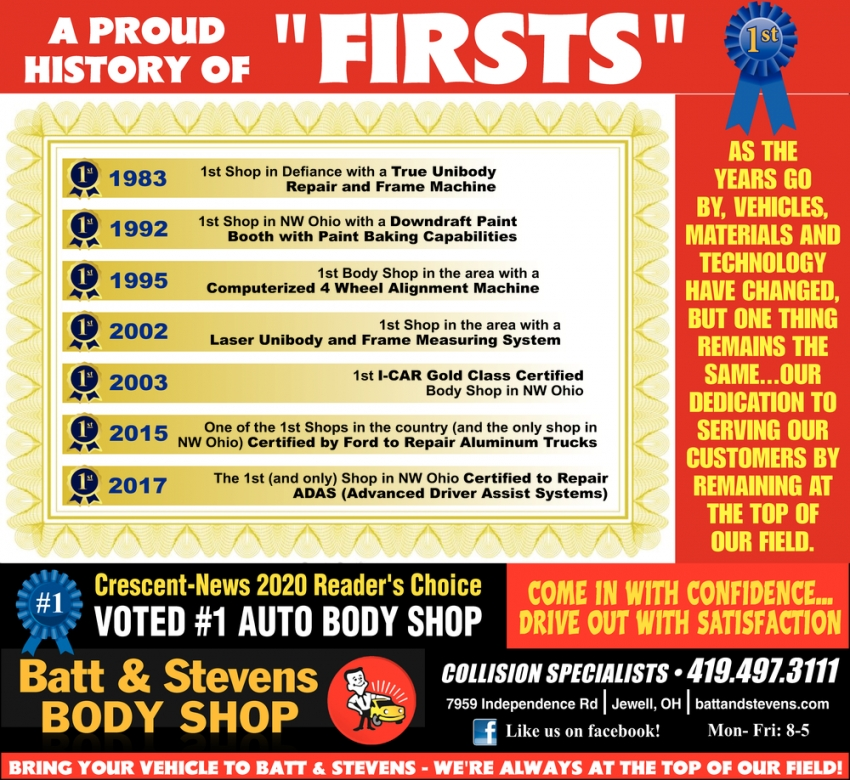 A Proud History of ''Firsts''