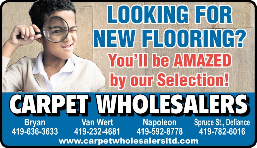 Looking for New Flooring?
