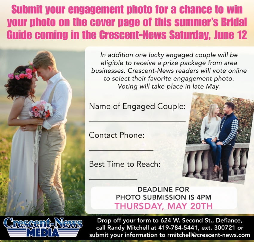 Submit your Engagement Photo