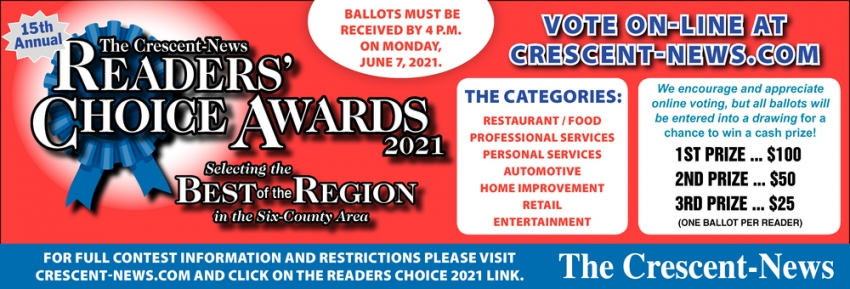 Readers' Choice Awards 2021