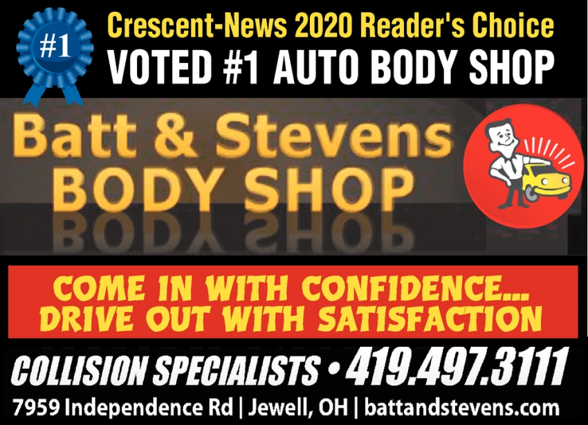Voted #1 Auto Body Shop