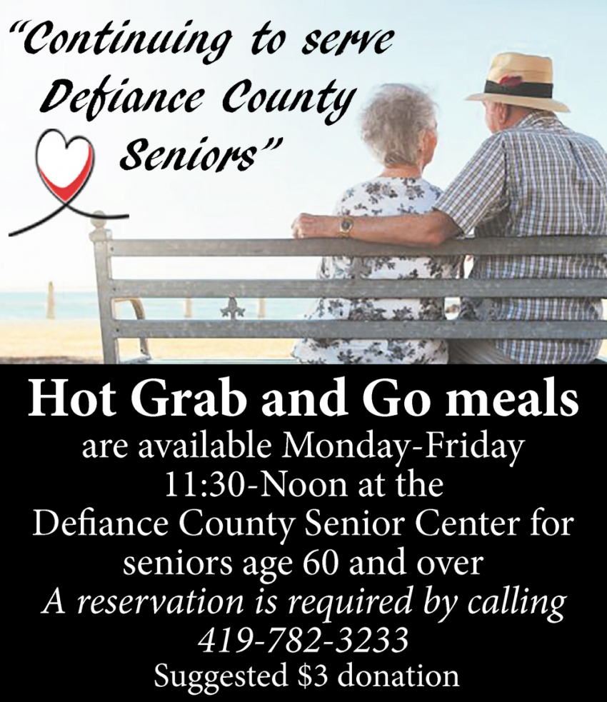 Continuing to Serve Defiance County Seniors