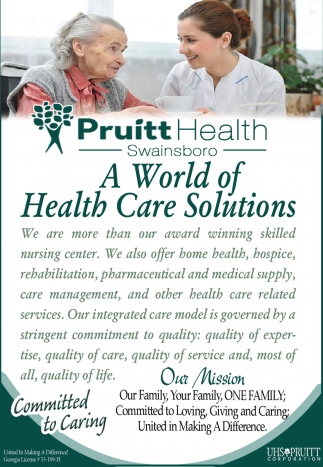 A World Of Health Care Solutions
