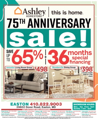 7th Anniversary Sale!, Ashley HomeStore, Bel Air, MD