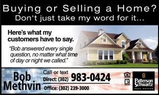 Buying or Selling a Home?