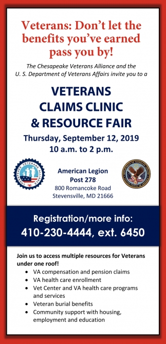 Veterans Claims Clinic