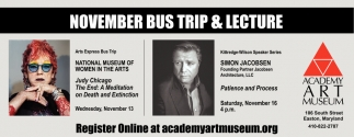 November Bus Trip & Lecture