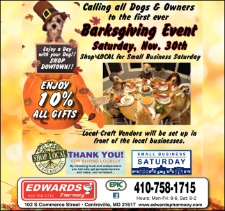 Barksgiving Event