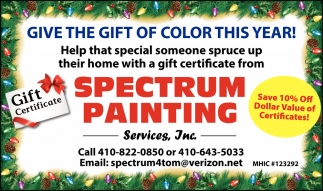 Give the Gift of Color