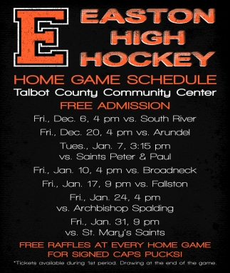 Home Game Schedule
