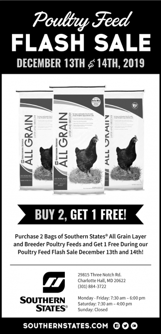 Poultry Feed Flash Sale
