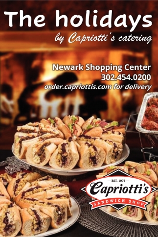 The Holidays By Capriotti's Catering