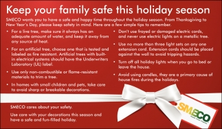 Keep Your Family Safe This Holiday Season