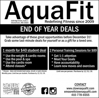 End of Year Deals