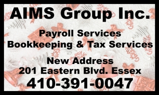 Payroll Services Bookkeeping & Tax Services