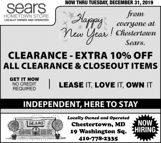All Clearance & Closeout Items
