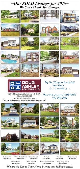 Our Sold Listing for 2019