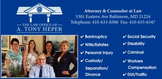 Attorney & Counselor at Law