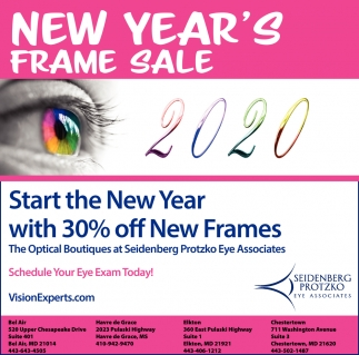 New Year's Frame Sale