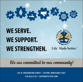 We Are Committed To Our Community
