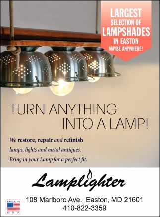 Largest Selection of Lampshades
