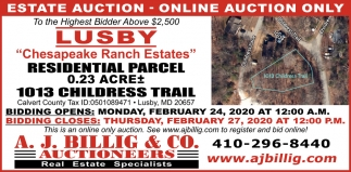 Online Auction Only