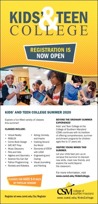Kids' & Ten College